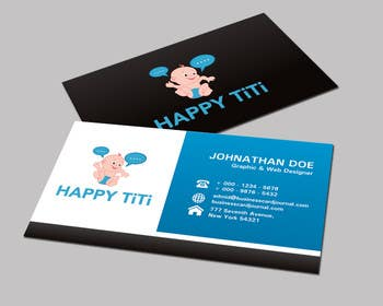 #49 para Logo and Business Card for Happy Titi (baby-sitting) por tedi1
