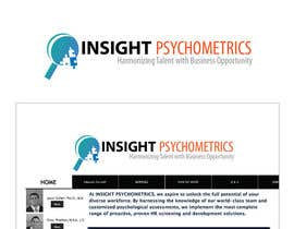 #32 para Logo Design for INSIGHT PSYCHOMETRICS por emilymwh
