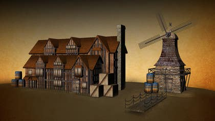 #6 for Graphic designer/artist needed for drawing 16th century architecture/enviroment by clementalwin