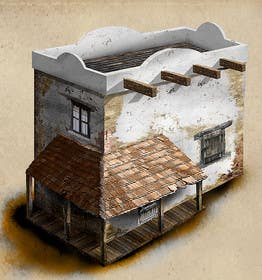 #16 for Graphic designer/artist needed for drawing 16th century architecture/enviroment by pixelrover