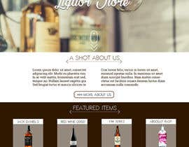 ivcdesignro tarafından Design a Website Mockup For A Liquor Store için no 28