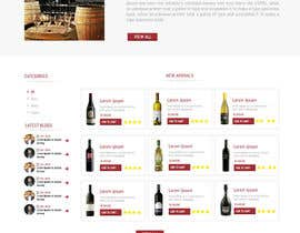 creative223 tarafından Design a Website Mockup For A Liquor Store için no 33