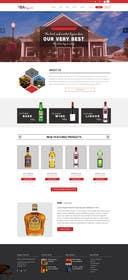 ameet4u tarafından Design a Website Mockup For A Liquor Store için no 27