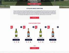 DLS1 tarafından Design a Website Mockup For A Liquor Store için no 29