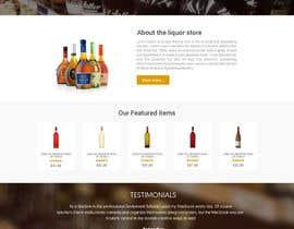 nextdesign2007 tarafından Design a Website Mockup For A Liquor Store için no 17