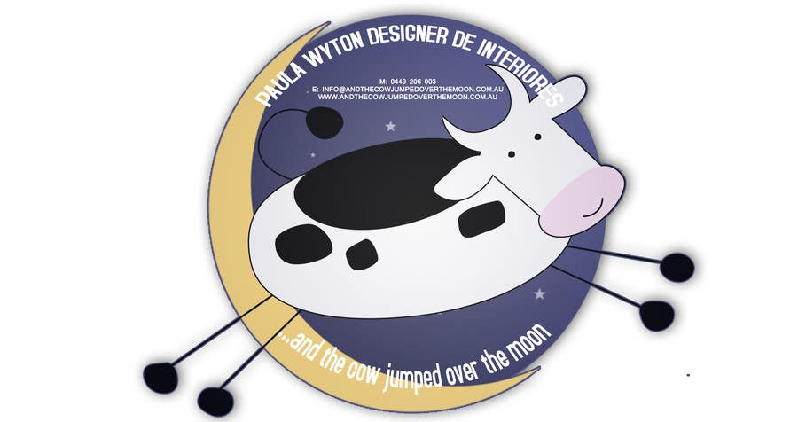 Inscrição nº 2 do Concurso para Design an optional logo for and the cow jumped over the moon