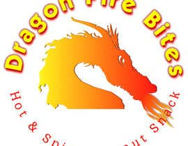 #3 for Design a Logo for Dragon Fire Bites (Spicy Snack) af ivashpak
