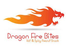 nº 18 pour Design a Logo for Dragon Fire Bites (Spicy Snack) par gopu0000