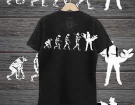 """Nro 13 kilpailuun Design an """"Evolution of Man to Carp Fisherman"""" T-Shirt käyttäjältä nobelahamed19"""