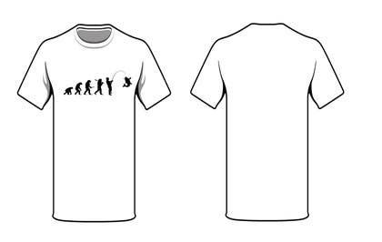 "jamesmilner25 tarafından Design an ""Evolution of Man to Carp Fisherman"" T-Shirt için no 1"