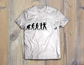 """Nro 4 kilpailuun Design an """"Evolution of Man to Carp Fisherman"""" T-Shirt käyttäjältä FALL3N0005000"""