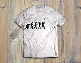 "FALL3N0005000 tarafından Design an ""Evolution of Man to Carp Fisherman"" T-Shirt için no 4"