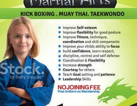 #18 for Design a Flyer for Kids Martial Arts Classes by mediatronics