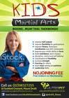Graphic Design Inscrição do Concurso Nº21 para Design a Flyer for Kids Martial Arts Classes