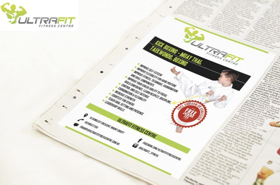 Inscrição nº                                         11                                      do Concurso para                                         Design a Flyer for Kids Martial Arts Classes