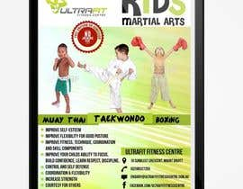 #37 for Design a Flyer for Kids Martial Arts Classes by SagarChitrakar