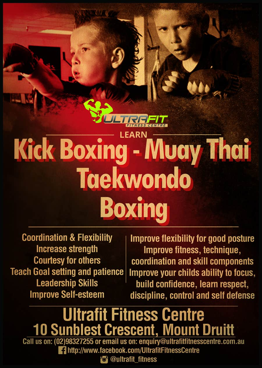 Inscrição nº                                         9                                      do Concurso para                                         Design a Flyer for Kids Martial Arts Classes