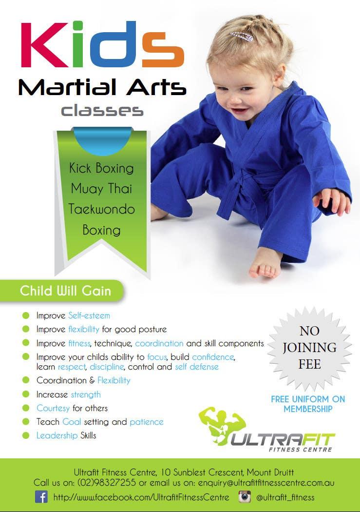 Inscrição nº                                         27                                      do Concurso para                                         Design a Flyer for Kids Martial Arts Classes