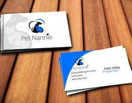 crysambscorp tarafından Design some Business Cards for Pet Nannie için no 33