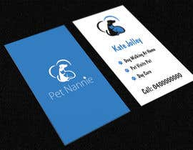 raywind tarafından Design some Business Cards for Pet Nannie için no 45