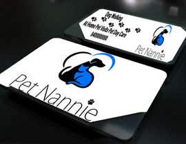 vansh9870 tarafından Design some Business Cards for Pet Nannie için no 48
