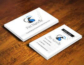 #30 para Design some Business Cards for Pet Nannie por pointlesspixels