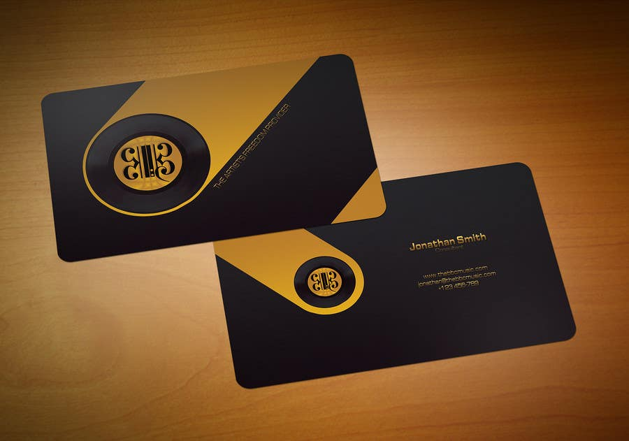 Entry #38 by Zveki for Business Card Design for The BBC Music ...
