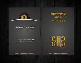 #112 para Business Card Design for The BBC Music por F5DesignStudio