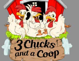 #110 untuk NEED SPUNKY CARTOON-LIKE CHICKENS FOR LOGO DESIGN oleh momotaros