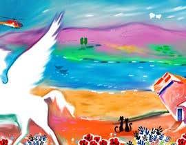 Nro 119 kilpailuun Valentine's Day Postcard Design käyttäjältä GhitaB