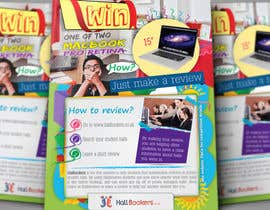 #67 for Design a Flyer/Poster for Hallbookers by tahira11