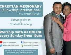 oobqoo tarafından Church Livestream flyer için no 18