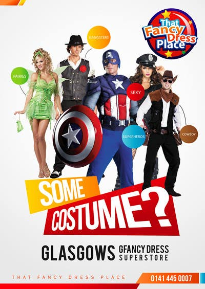 Proposition n°3 du concours Design a Flyer for Fancy Dress Business