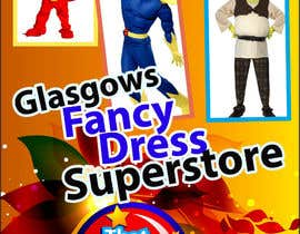 #58 for Design a Flyer for Fancy Dress Business af amcgabeykoon