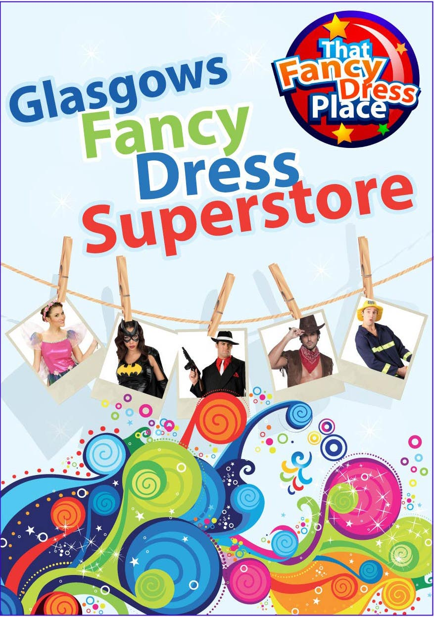 Proposition n°59 du concours Design a Flyer for Fancy Dress Business