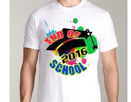 Nro 25 kilpailuun T-shirt design for end of year school käyttäjältä jojohf