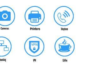 Nro 13 kilpailuun Design some Icons käyttäjältä babud9748