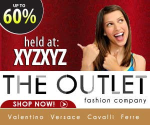 Contest Entry #                                        3                                      for                                         Banner Ad Design for The Outlet Fashion Company