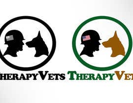 #7 para Design a Logo for TherapyVets Program por nemodmx