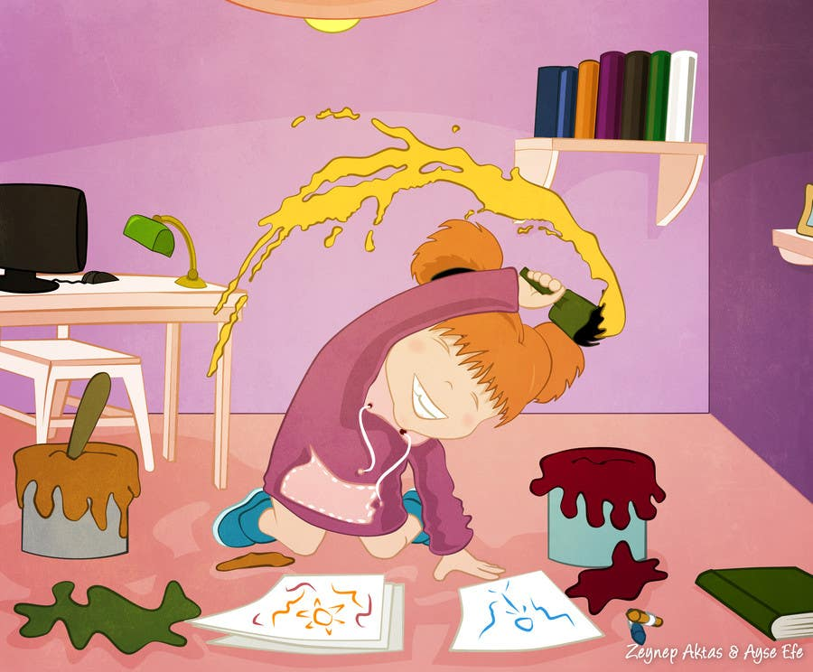 #26 for Illustrate Something for a children's book by ZeynepAktas