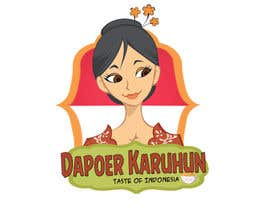 "agamjotsingh384 tarafından Design a Logo for an Asian food brand called ""Dapoer Karuhun"" için no 17"