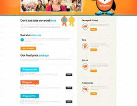 #33 for Design a Website home page and our people page Mockup by sanbose