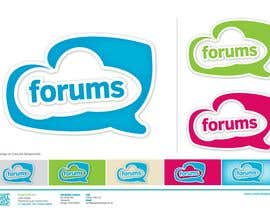 #47 dla Logo Design for Forums.com przez CreativeBaked