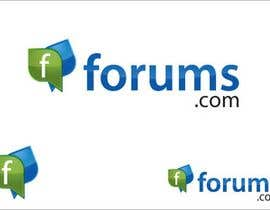 #81 för Logo Design for Forums.com av FATIKAHazaria
