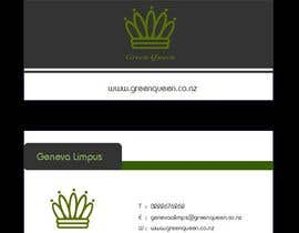 #63 for Design some Business Cards for Green Queen by mogharitesh