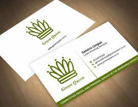 #52 cho Design some Business Cards for Green Queen bởi ezesol