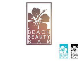 nº 31 pour Design a Logo for my business, Beach Beauty Bar par zoolei