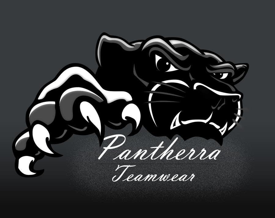 Kilpailutyö #30 kilpailussa Panther head logo