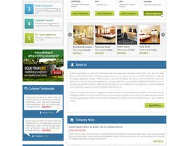 #16 for Design a Website Mockup for Estate Agent af patrickjjs
