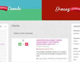 #62 cho Design a Logo for Grocery Coupons Canada bởi Wbprofessional